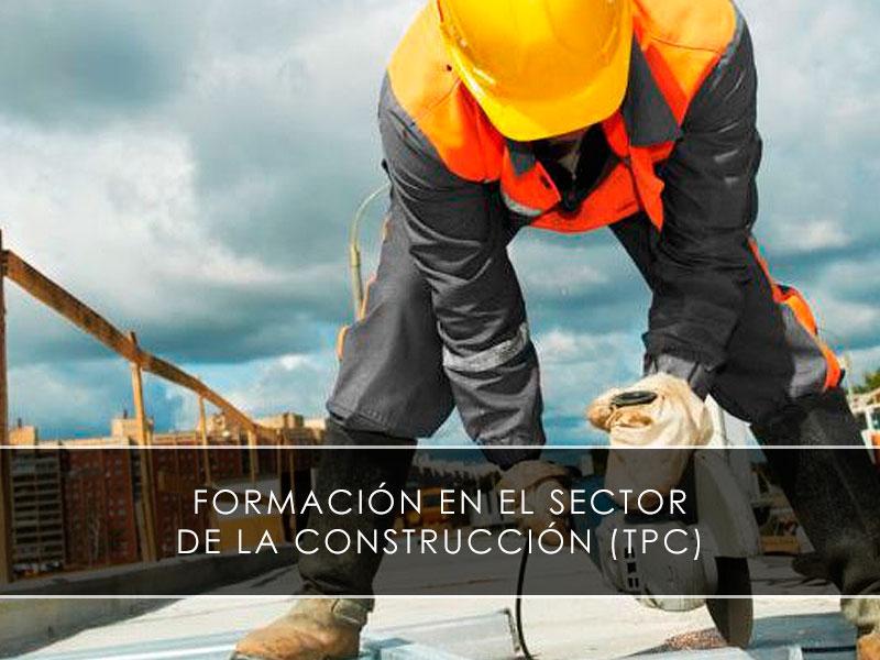 formación en el sector de la construcción TPC