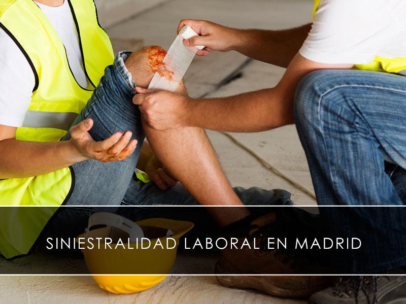 Siniestralidad laboral en Madrid