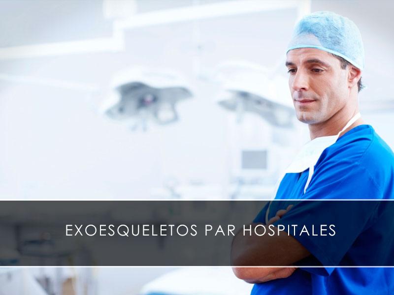 exoesqueletos para hospitales