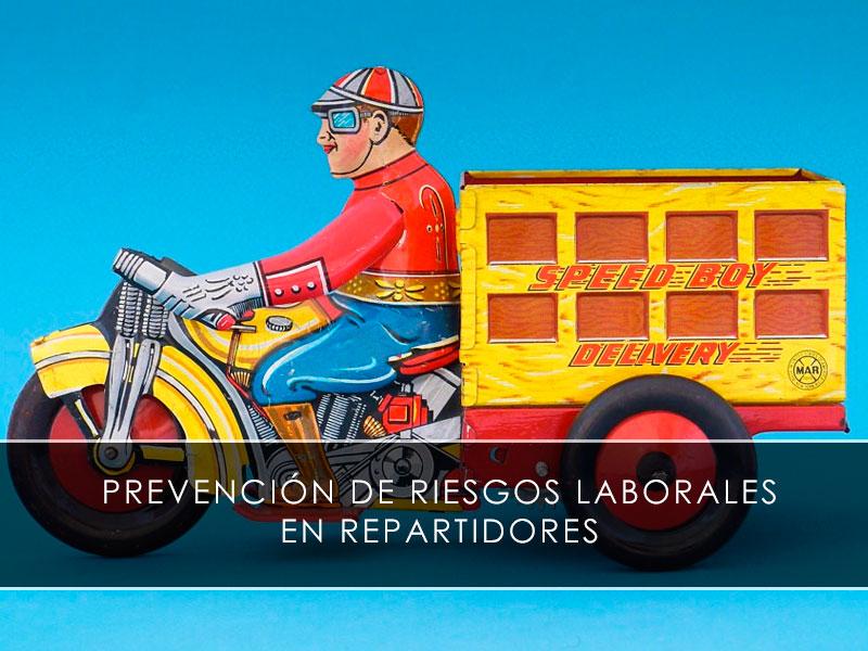 Prevención de riesgos laborales en repartidores