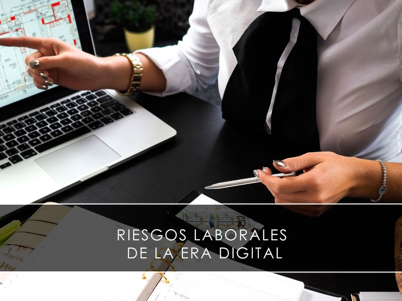 riesgos laborales de la era digital