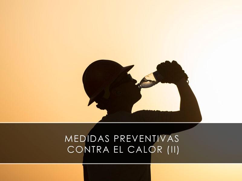 medidas preventivas en épocas de calor