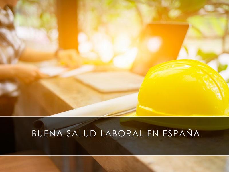 buena salud laboral en España