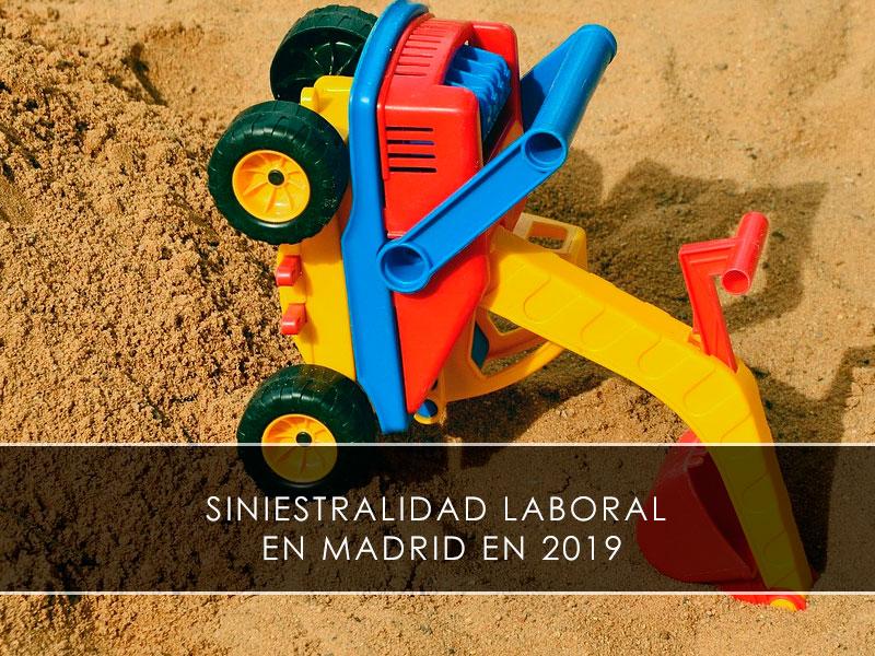 Siniestralidad laboral en Madrid en 2019