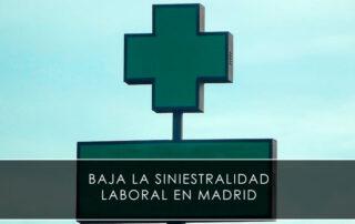 Baja la siniestralidad laboral en Madrid