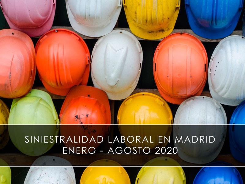 Siniestralidad laboral en Madrid entre enero y agosto- Novagés