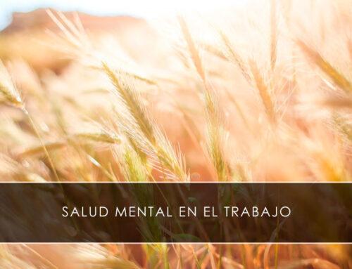 Salud mental en el trabajo