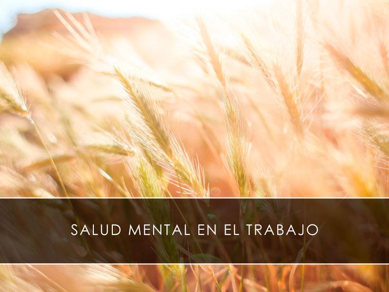 Salud mental en el trabajo - Novagés