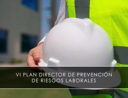 VI Plan Director de Prevención de Riesgos Laborales