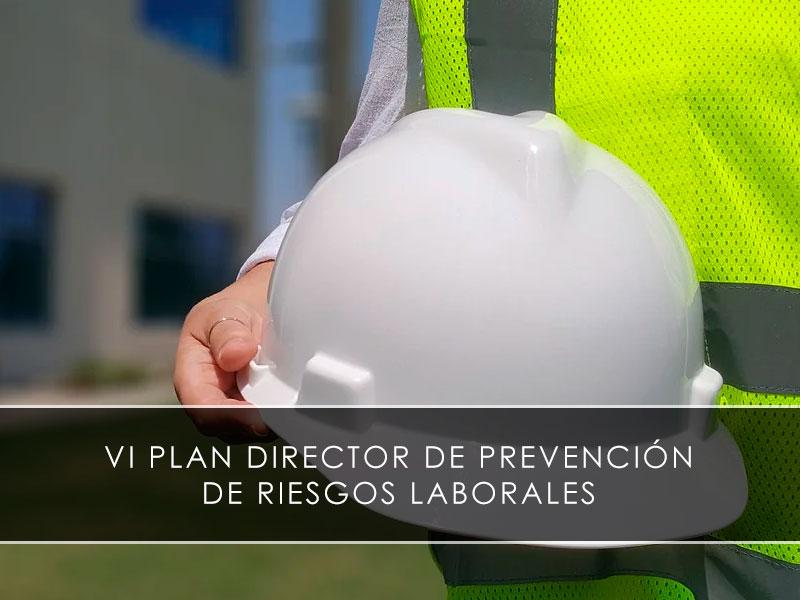 VI Plan Director de Prevención de Riesgos Laborales Novagés