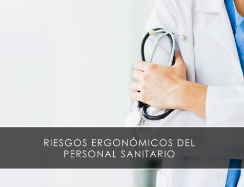 Riesgos ergonómicos del personal sanitario