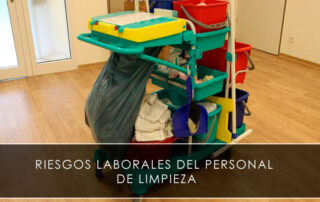 riesgos laborales del personal de limpieza - Novagés