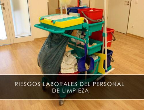 Riesgos laborales del personal de limpieza