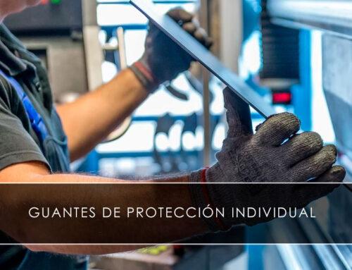 Guantes de protección individual
