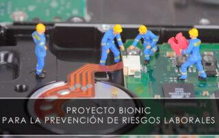 Proyecto Bionic para la prevención de riesgos laborales - Novagés