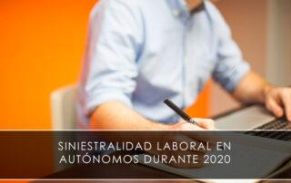 siniestralidad laboral en autónomos durante 2020 - Novagés