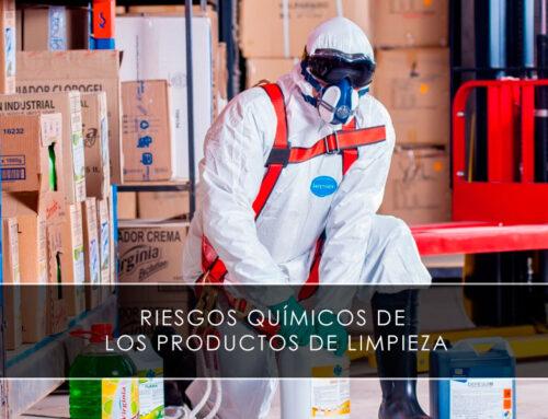 Riesgos químicos de los productos de limpieza