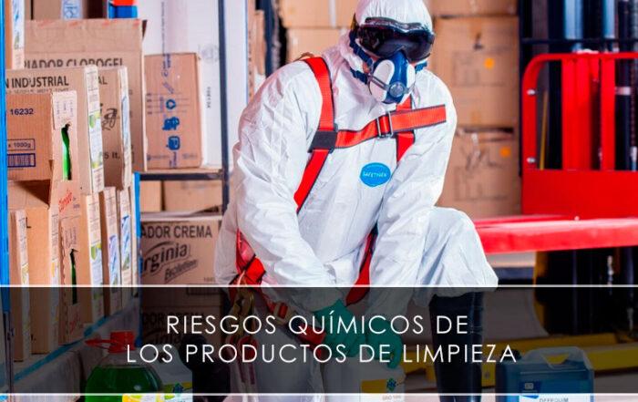 Riesgos químicos de los productos de limpieza - Novagés