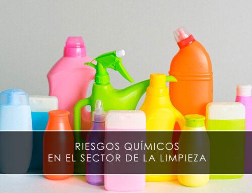 Riesgos químicos en el sector de la limpieza, tipos de productos