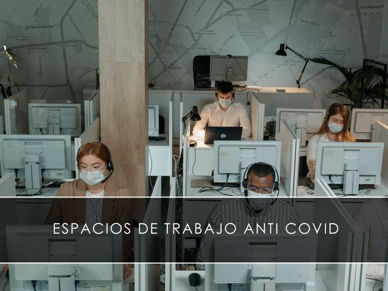 espacios de trabajo anti COVID - Novagés