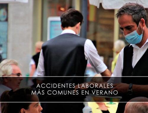 Accidentes laborales más comunes en verano