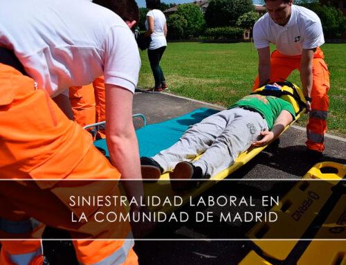 Siniestralidad laboral en la Comunidad de Madrid